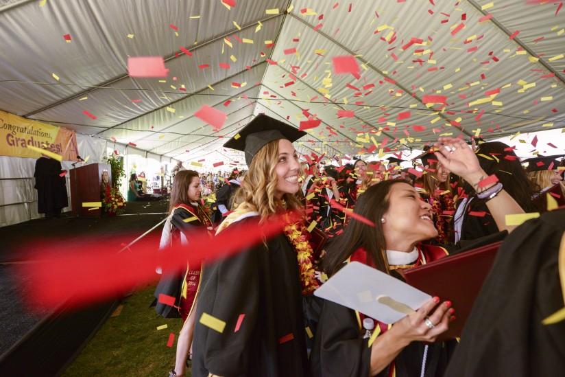 Graduation at Annenberg