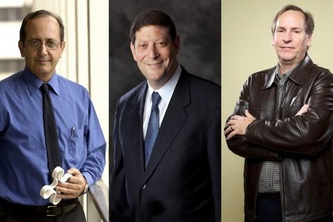 New fellows Behrokh Khoshnevis, Alan Willner and Mark Thompson