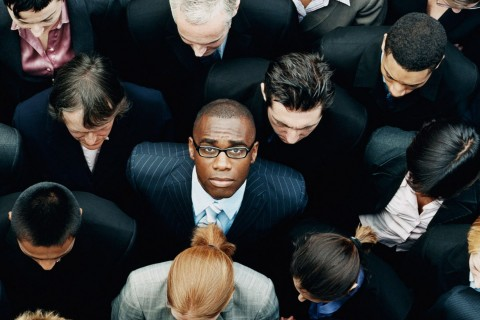 Black_businessman, stock image