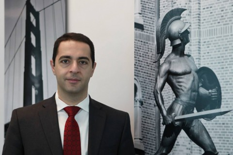 Margarian in his office