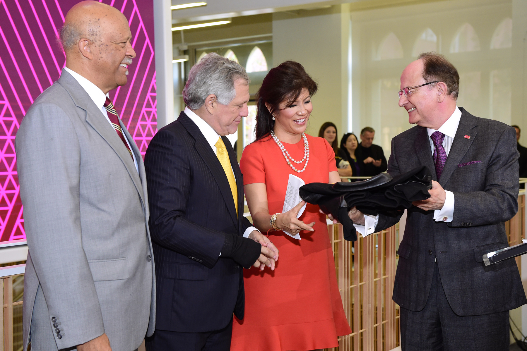 USC Annenberg School for Communication and Journalism naming event for the Julie Chen/Leslie Moonves