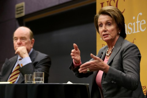 Pelosi and Shrum