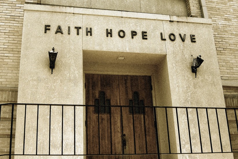 Faith, Hope, Love,