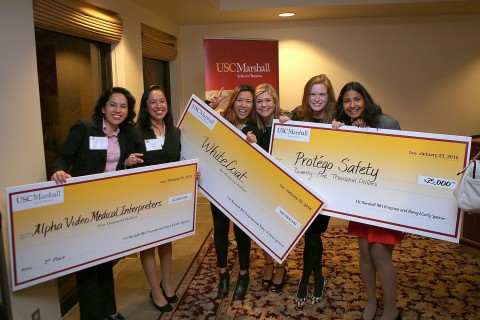 USC Marshall's Graduate Women in Business