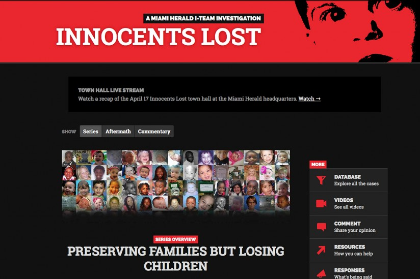 Series exposing fatal flaws in Florida child services wins Selden