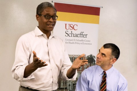 Dr. Mitchell Katz, director of the Los Angeles County Department of Health Services