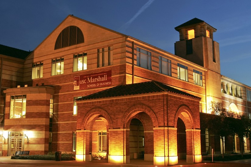 Popovich Hall, USC Marshall School of Business