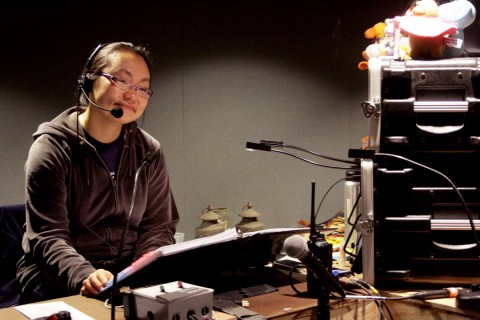 Winnie Lok works behind the scenes as a stage manager. (Photo/The Hinge Collective)