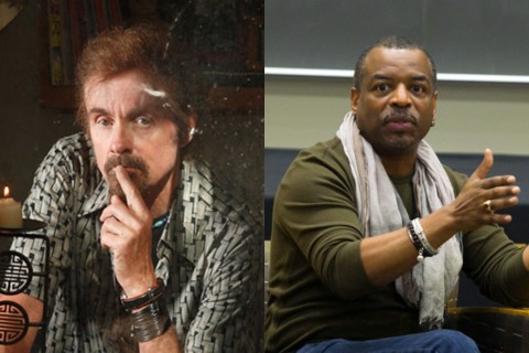 T.C. Boyle and LeVar Burton
