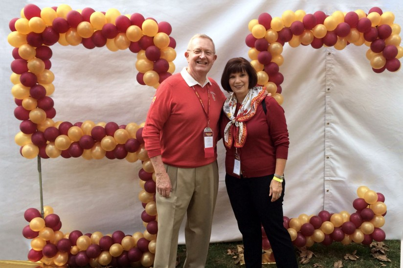 Red and Sheri Cavaney, USC Price receives first scholarship gift for new nonprofit degre