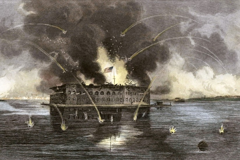 Fort Sumter, early american history