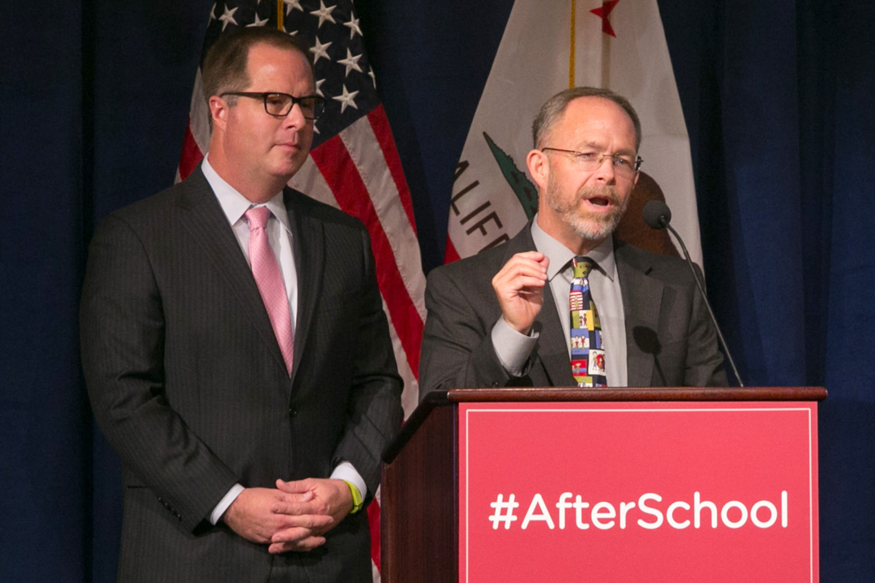 Christopher Steinhauser, superintendent of the Long Beach Unified School District,