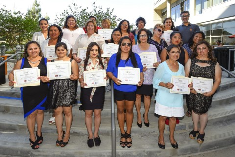 Ramona Gardens Women's Health Initiative Promotora Graduation