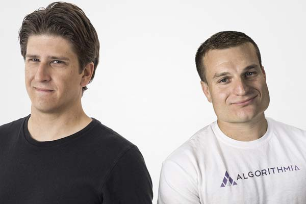 Algorithmia founders Kenny Daniel, left, and Diego Oppenheimer (Photo/courtesy of Kenny Daniel)