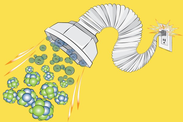 USC Viterbi Assistant Professor Adam Smith wants to develop new ways of treating water. (Illustration/Adam Smith)