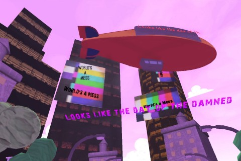 World's a Mess is a music video adapted for Android devices. (Photo/courtesy of Otherworld Interactive)