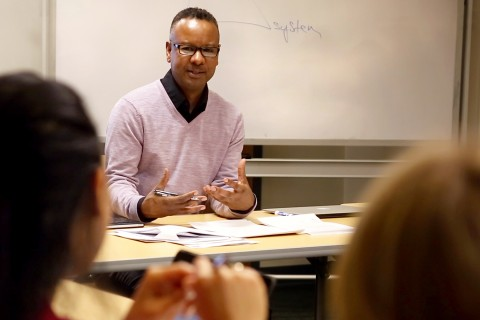 Jeffrey Fields, assistant professor of the practice of international relations