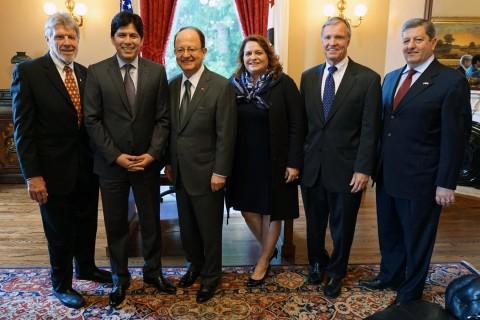 USC delegation members