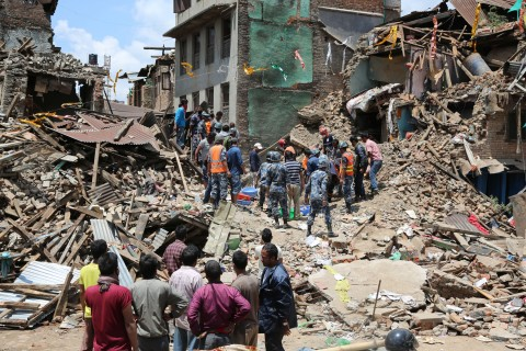 Nepal was hit by an earthquake in late April. (Photo/Wikicommons)