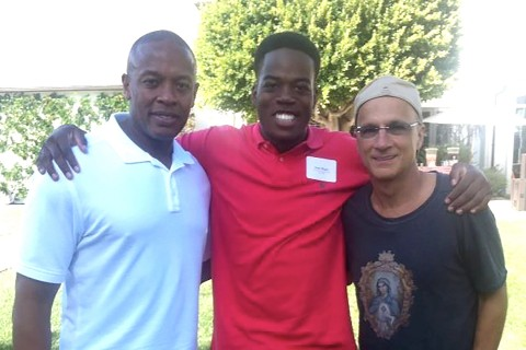 Amri Rigby, Dr. Dre and Jimmy Iovine