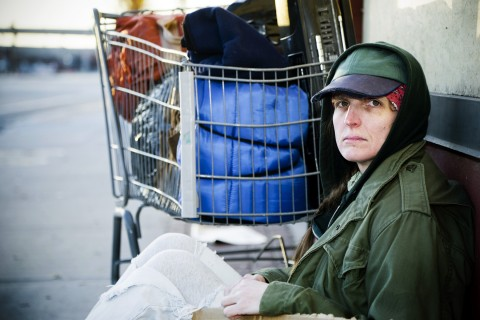 Roughly 34,000 female veterans are homeless.