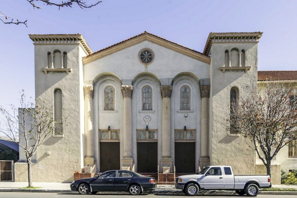 Long Beach's Immanuel Church, which will be remade as Immanuel Senior Housing (Photo/Courtesy of Tyler Monroe)