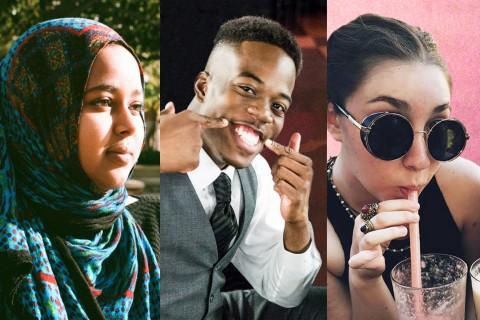 Newal Osman, Amri Rigby and Natalie Raphael