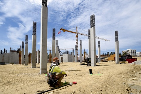 USC Village construction