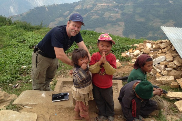 Tim Collins in Nepal