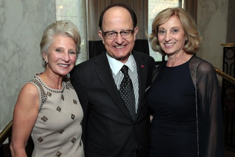 Jane Harman with C. L. Max Nikias and Niki C. Nikias