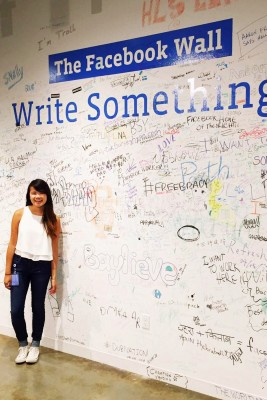 Wong will work in content strategy for Facebook. (Photo/courtesy of Lauren Wong)