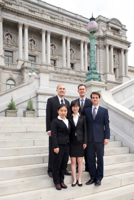 USC Price students in Washington