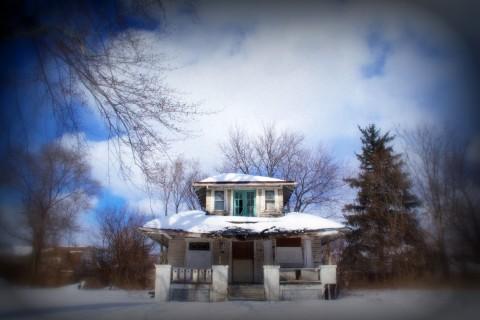 abandon home, Detroit