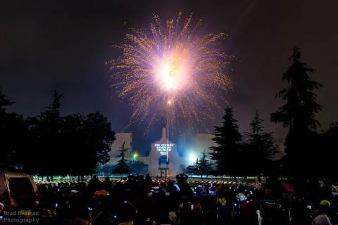 Fireworks in 2013