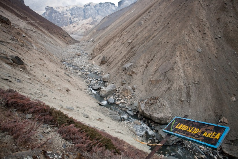 From earthquakes to landslides and potential floods in ...