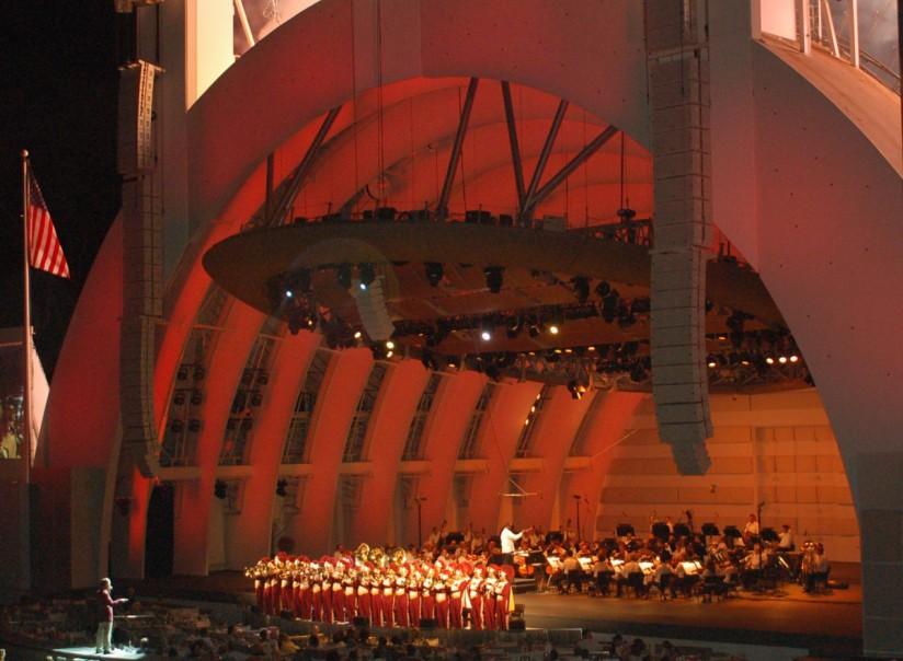 Marching Band at Hollywood Bowl