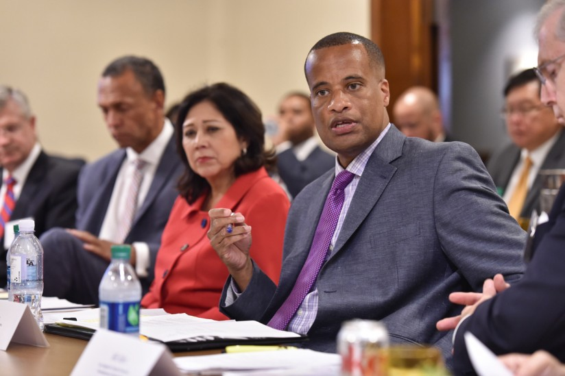 Discussion with U.S. Assistant Secretary of Commerce Jay Williams