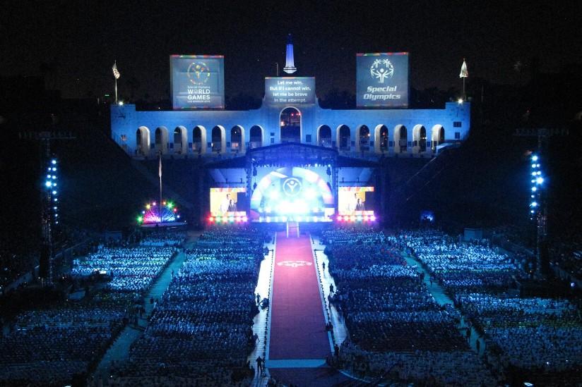 Special Olympics opening ceremonies