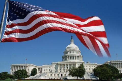 U.S. flag in D.C.