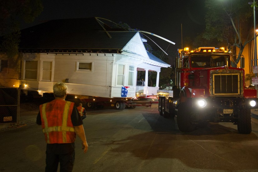 Home being moved