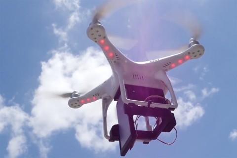 drone in marketing campaign