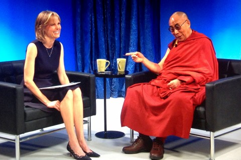 Willow Bay talks with Dalai Lama