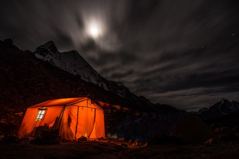 Camping, tent,