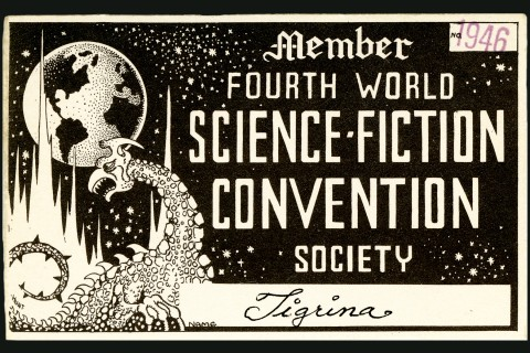Sci Fi Convention membership card
