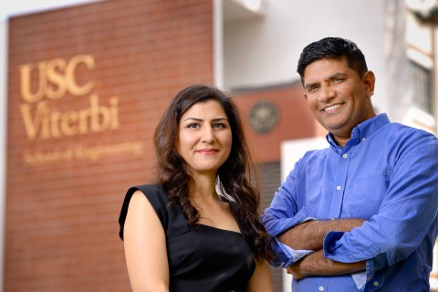 Maryam Shanechi and Bhaskar Krishnamachari