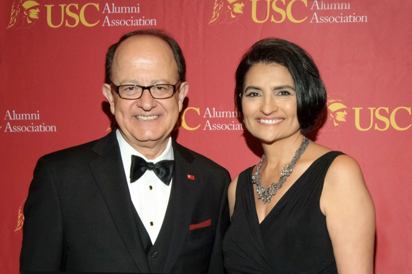 Nikias with Judge Dalila Corral Lyons