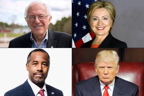 Presidential contenders