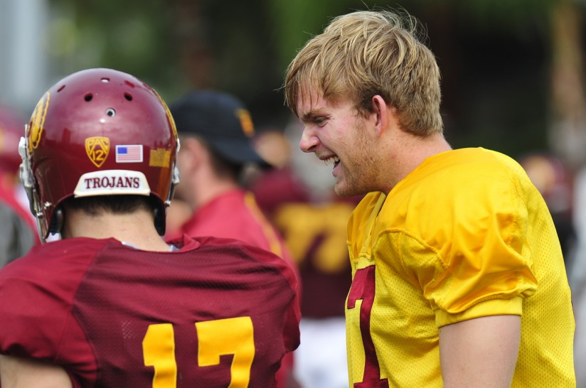 timeless design 413ad 97d1c Meet Jake Olson, the blind USC football player everyone is ...