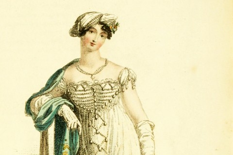 1813 Ball dress (Illustration/Ackermans fashion plate, 46)