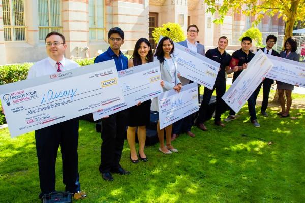 USC Stevens Showcase winners